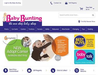 Thumbshot of Babybunting.com.au