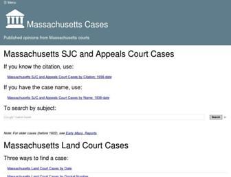 masscases.com screenshot