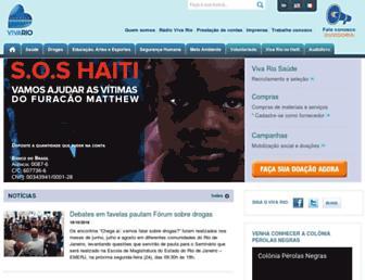 Thumbshot of Vivario.org.br