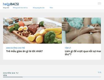 hellobacsi.com screenshot