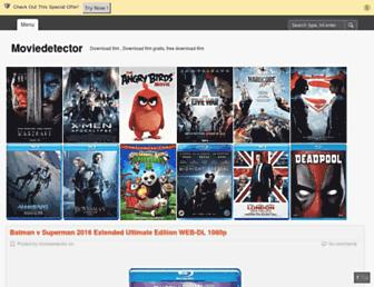 Thumbshot of Moviedetector.com