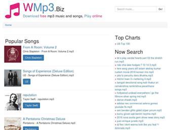 wmp3.biz screenshot