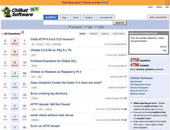 chilkatforum.com screenshot