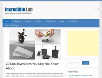 incrediblelab.com screenshot