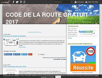 code-de-la-route-gratuit.pro screenshot