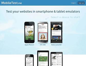 Thumbshot of Mobiletest.me