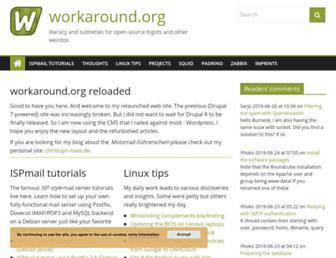 Thumbshot of Workaround.org
