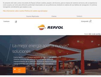 Thumbshot of Repsol.com