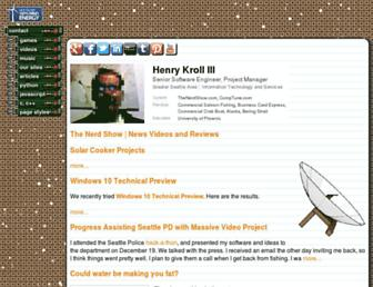 thenerdshow.com screenshot