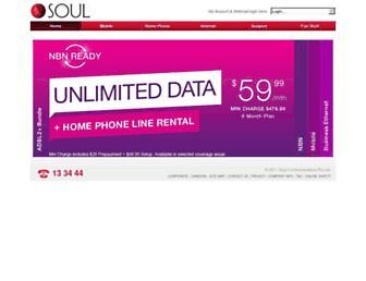 mysoul.com.au screenshot