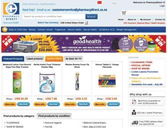 Thumbshot of Pharmacydirect.co.nz