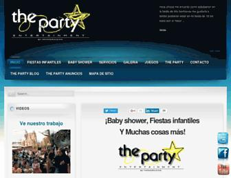 Thumbshot of Theparty.com.mx