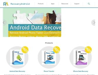 recovery-android.com screenshot