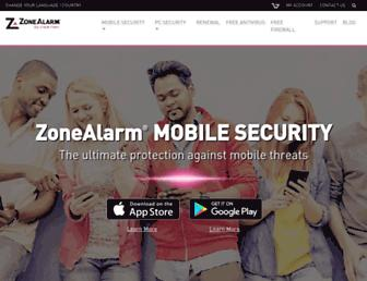 Thumbshot of Zonealarm.com