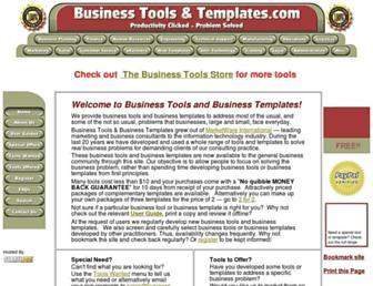 business-tools-templates.com screenshot