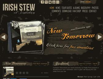 irishstew.net screenshot