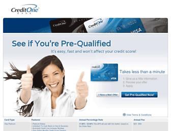 Thumbshot of Creditonecards.com