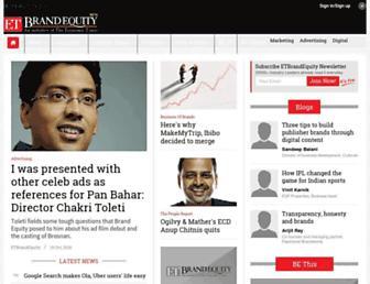 brandequity.economictimes.indiatimes.com screenshot