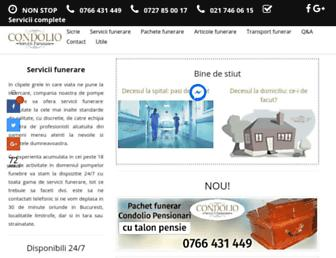 pompe-funebre.ro screenshot