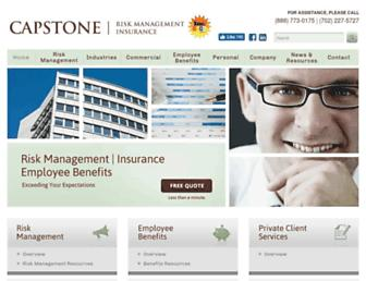 capstonebrokerage.com screenshot