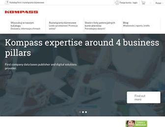 pl.kompass.com screenshot