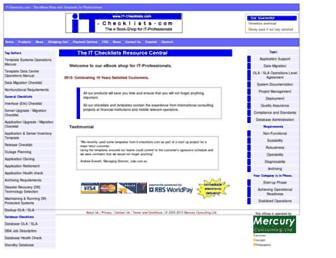 it-checklists.com screenshot