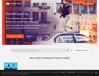 Thumbshot of Soundcloud.com