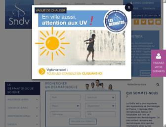 Thumbshot of Syndicatdermatos.org