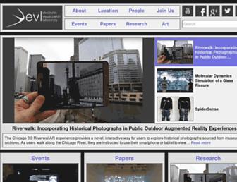evl.uic.edu screenshot