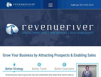 revenueriver.co screenshot