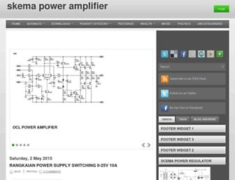 skema-power-amplifier.blogspot.com screenshot