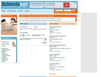 Thumbshot of Schoolsnet.com