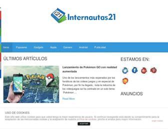 internautas21.com screenshot