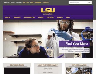 Thumbshot of Lsu.edu