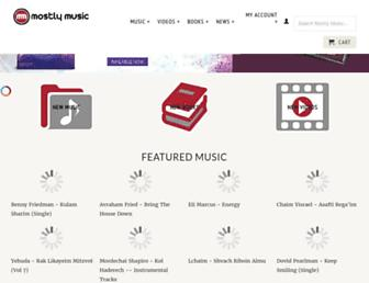 mostlymusic.com screenshot