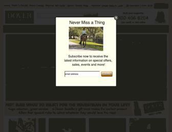 doversaddlery.com screenshot