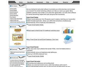 flashemailcast.com screenshot