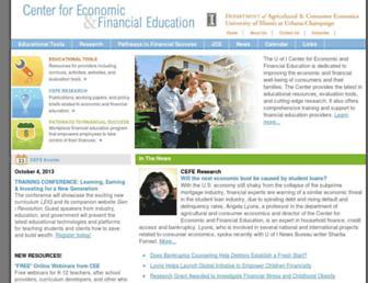 cefe.illinois.edu screenshot