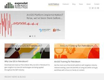 exprodat.com screenshot
