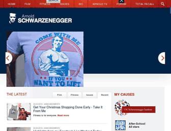 Thumbshot of Schwarzenegger.com