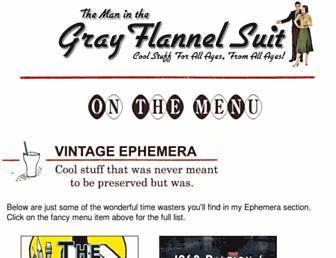 Thumbshot of Grayflannelsuit.net