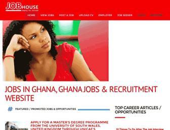 Thumbshot of Jobhouseghana.com