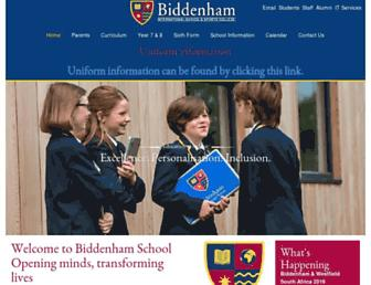 biddenham.beds.sch.uk screenshot