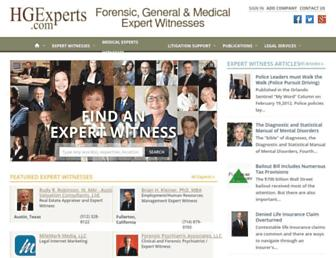 hgexperts.com screenshot