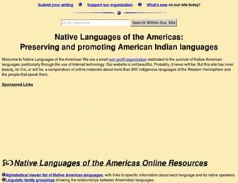 Thumbshot of Native-languages.org
