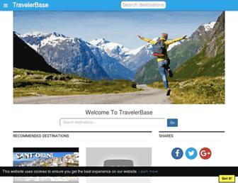 travelerbase.com screenshot