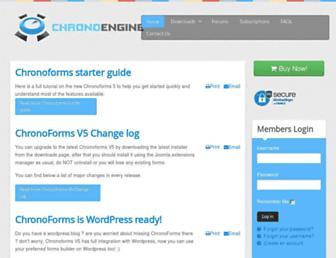 Thumbshot of Chronoengine.com