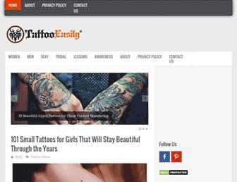tattooeasily.com screenshot