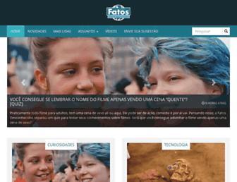 Thumbshot of Fatosdesconhecidos.com.br