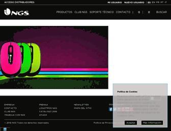 ngs.eu screenshot